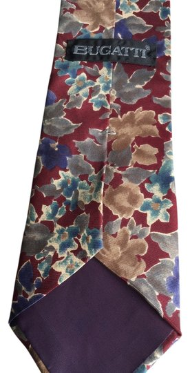 Bugatti Bugatti Italian Silk Tie Made in the US.