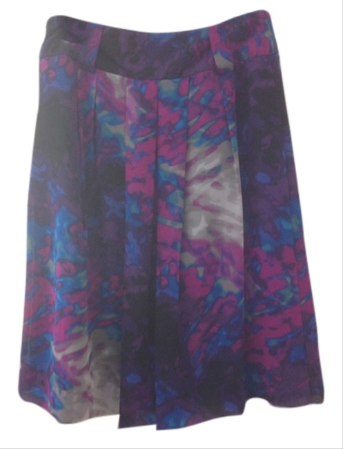 Worthington Skirt Multi Pink/Purple