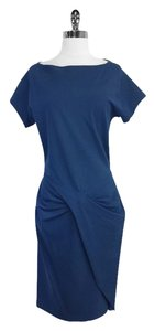 Diane von Furstenberg short dress Blue Short Sleeve on Tradesy