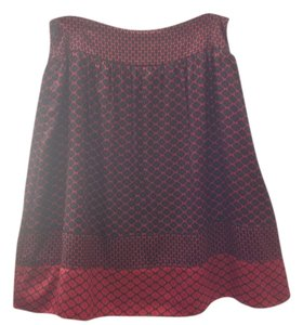 Apostrophe Skirt Multi Red/Black
