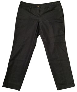New York & Company Stretch Zippers Skinny Pants Blue