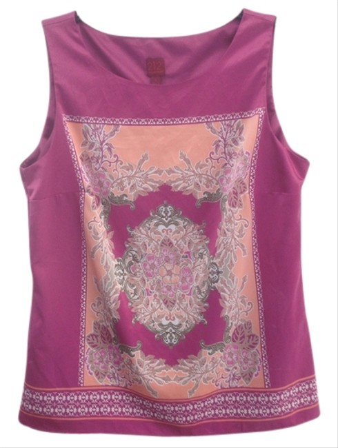 212 Collection Top Multi Pink