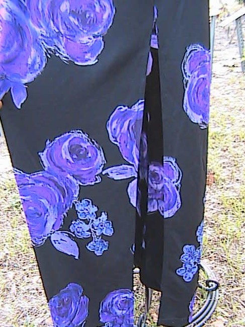 Black Floral Maxi Dress by Younique Clothing