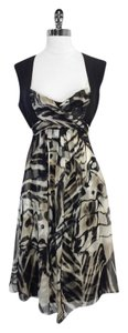 Max Mara short dress Linen Silk Abstract Print on Tradesy