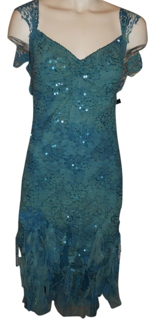 Arden B. Beaded Lace Sequin Dress