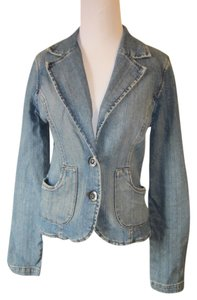 Blue Asphalt Blue Denim Womens Jean Jacket