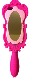 Moschino Moschino Barbie Pink Mirror I-Phone 5 & 5/S Cell Holder..From Moschino's 2015 Spring Runway Capsule Collection,No Longer Available.So Girly,Pretty,Stylish,Unique, PERFECT CONDITION! Very Thick/Heavy/Sturdy-Well Made Retail $148