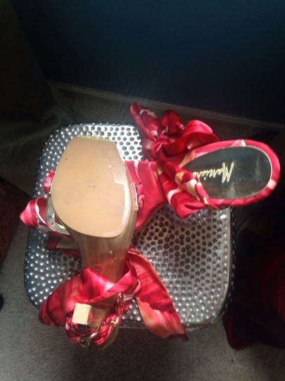 Marciano Red Sandals