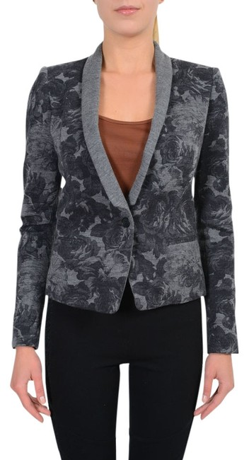 Preload https://item2.tradesy.com/images/just-cavalli-gray-wool-floral-one-button-women-s-blazer-size-4-s-5494966-0-0.jpg?width=400&height=650