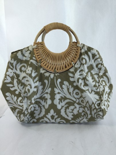 OndadeMar Tote in Green and White