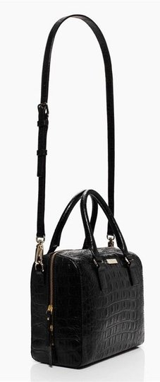 Kate Spade Satchel in Black/Gold