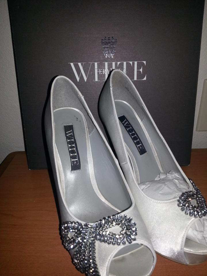 vera wang white label wedding shoes tradesy weddings