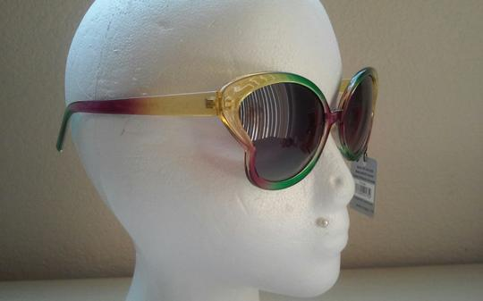 Other Rainbow Boho Colorful Butterfly Sunglasses