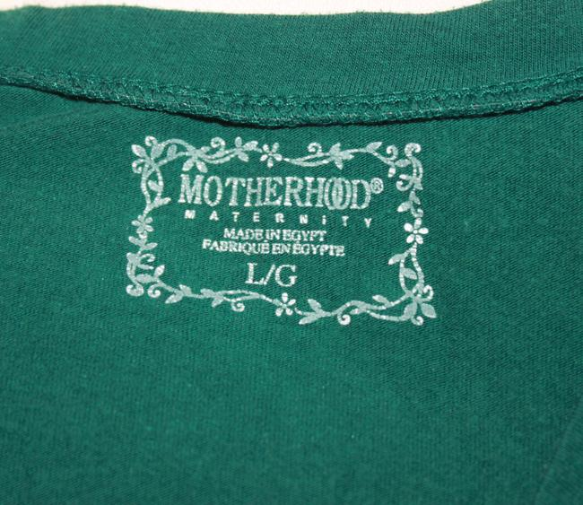Motherhood Maternity Wrap Long-Sleeve Tee