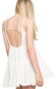 Brandy Melville short dress Cream on Tradesy