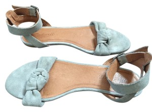 Madewell Knotted Lana Knotted Grey Sandals