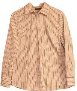 East 5th Essentials Button Down Shirt Blue Striped