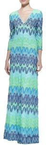 Blue Maxi Dress by Lilly Pulitzer Lamora Maxi