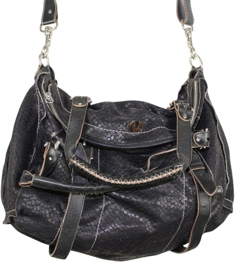 True Religion Leyla Leather Big Cross Body Bag