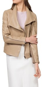 Helmut Lang Leather Asymmetrical Leather Jacket