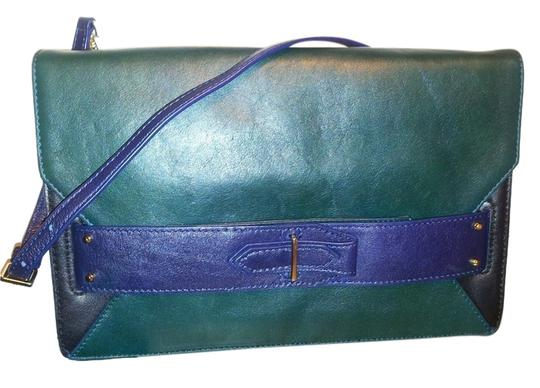 Preload https://item2.tradesy.com/images/derek-lam-folio-blue-and-green-leather-clutch-5498356-0-0.jpg?width=440&height=440