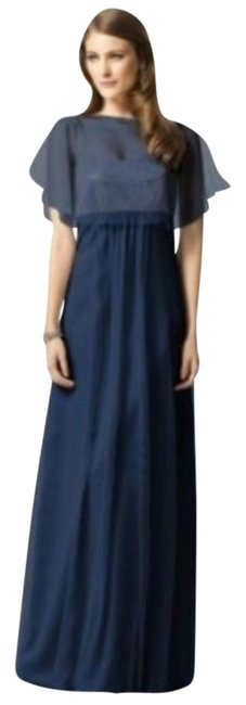 Dessy Midnight 2840 Long Night Out Dress Size 6 (S) Dessy Midnight 2840 Long Night Out Dress Size 6 (S) Image 1