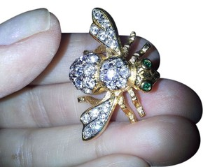 Joan Rivers JOAN RIVERS CRYSTAL BEE PIN BROOCH