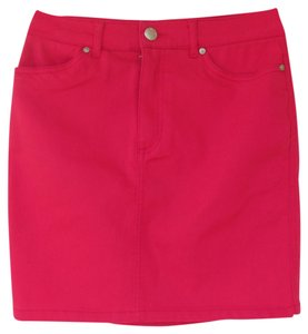 Divided by H&M Hot Mini High Waisted Skirt pink