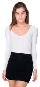 American Apparel Mini Skirt Black
