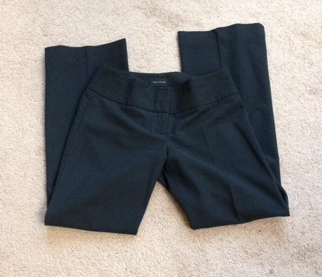 The Limited Trousers Straight Pants Black