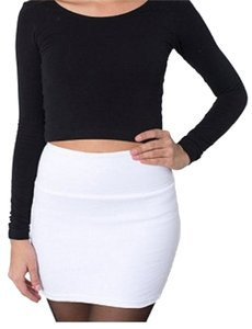 American Apparel Mini Skirt White