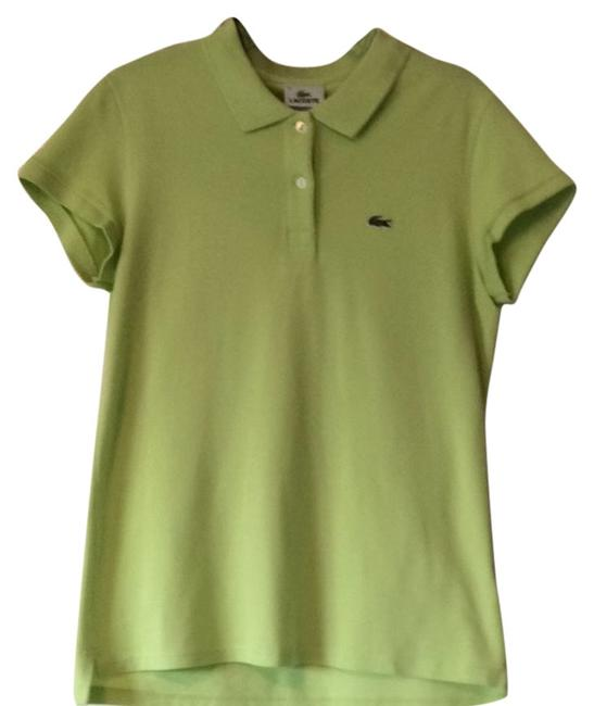 Lacoste T Shirt Lime Green