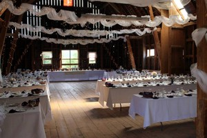 15 Large White Banquet Tablecloths 70 X 120in