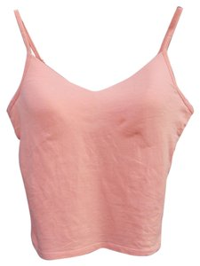 New York & Company Comfy Underwire Adjustable Comfortable Casual Top Orange