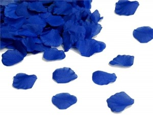 Royal Blue 1000x Rose Petal - 22 More Colors Available Flower Girl Basket