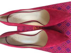 Tory Burch Lancaster suede Pumps