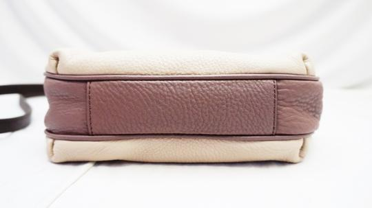 Marc by Marc Jacobs Mauve Leather Cross Body Bag