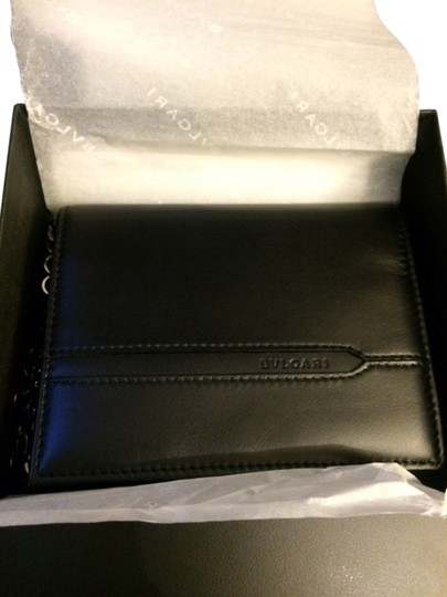 BVLGARI Bvlgari Leather Wallet *Brand New*