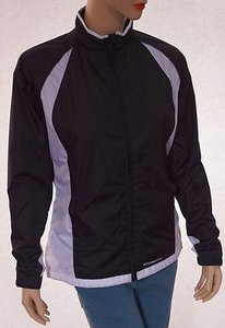 Other Stormpack Womens White Lined Water Repellent Windproof Coat Black Jacket