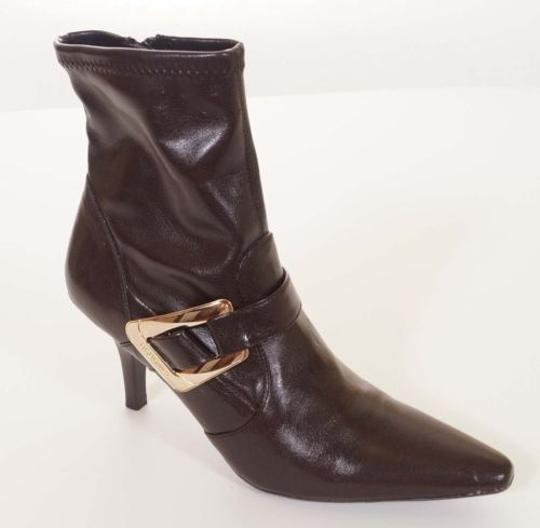 Preload https://item1.tradesy.com/images/bcbg-girls-sophie-womens-brown-gold-buckle-heels-bootie-ankle-boots-5500975-0-0.jpg?width=440&height=440