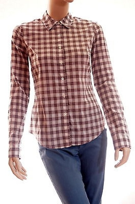 Preload https://item4.tradesy.com/images/james-perse-womens-quarts-beige-brown-long-sleeve-plaid-button-down-shirt-top-2-5501008-0-0.jpg?width=400&height=650