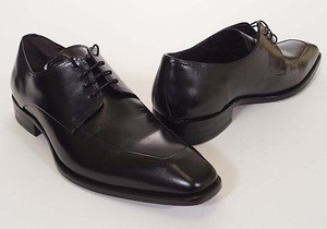 Mezlan 15668 Mens Black Leather Oxfords Dress Shoes W