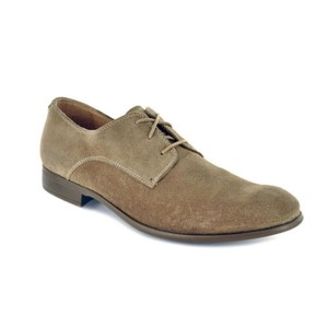 John Varvatos Sid Commuter Derby Mens Sandstone Suede Leather Oxford Shoes