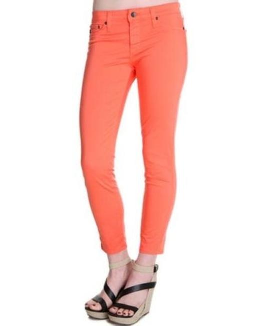 Preload https://item2.tradesy.com/images/big-star-womens-orange-alex-mid-rise-stretch-satin-capri-crop-pants-jeans-5501251-0-0.jpg?width=400&height=650