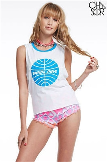 Preload https://item2.tradesy.com/images/chaser-womens-white-vintage-pan-am-sleeveless-muscle-tank-top-5501266-0-0.jpg?width=400&height=650