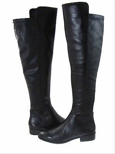 Michael Kors Bromley Womens Leather Over The Knee Tall Black Boots