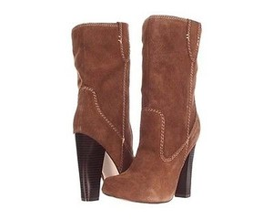 MIA Excursion Womens Rust Suede Leather Ankle Brown Boots