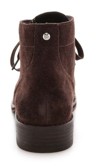 Sam Edelman Bleecker Womens Suede Leather Fashion Ankle Brown Boots