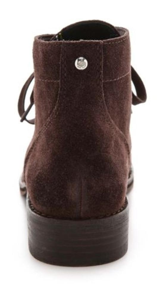 b4c3967e5b14c Sam Edelman Bleecker Womens Brown Suede Leather Fashion Ankle Bootie ...