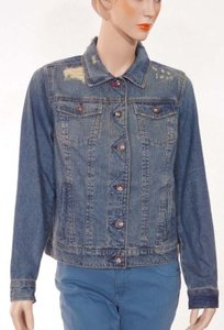 Tommy Hilfiger Womens Blue Jacket